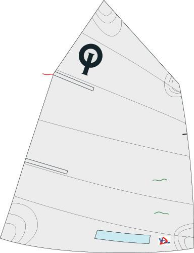 EX1054 - Optimist racing sails