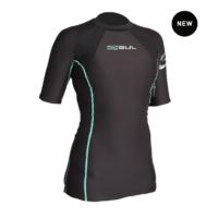 Gul Evotherm Ladies Fl Thermal Short Sleeve Top    Ev0052-B3