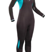 Flexor Ladies Cz 3/2mm Bs Wetsuit   Fx1212-B4