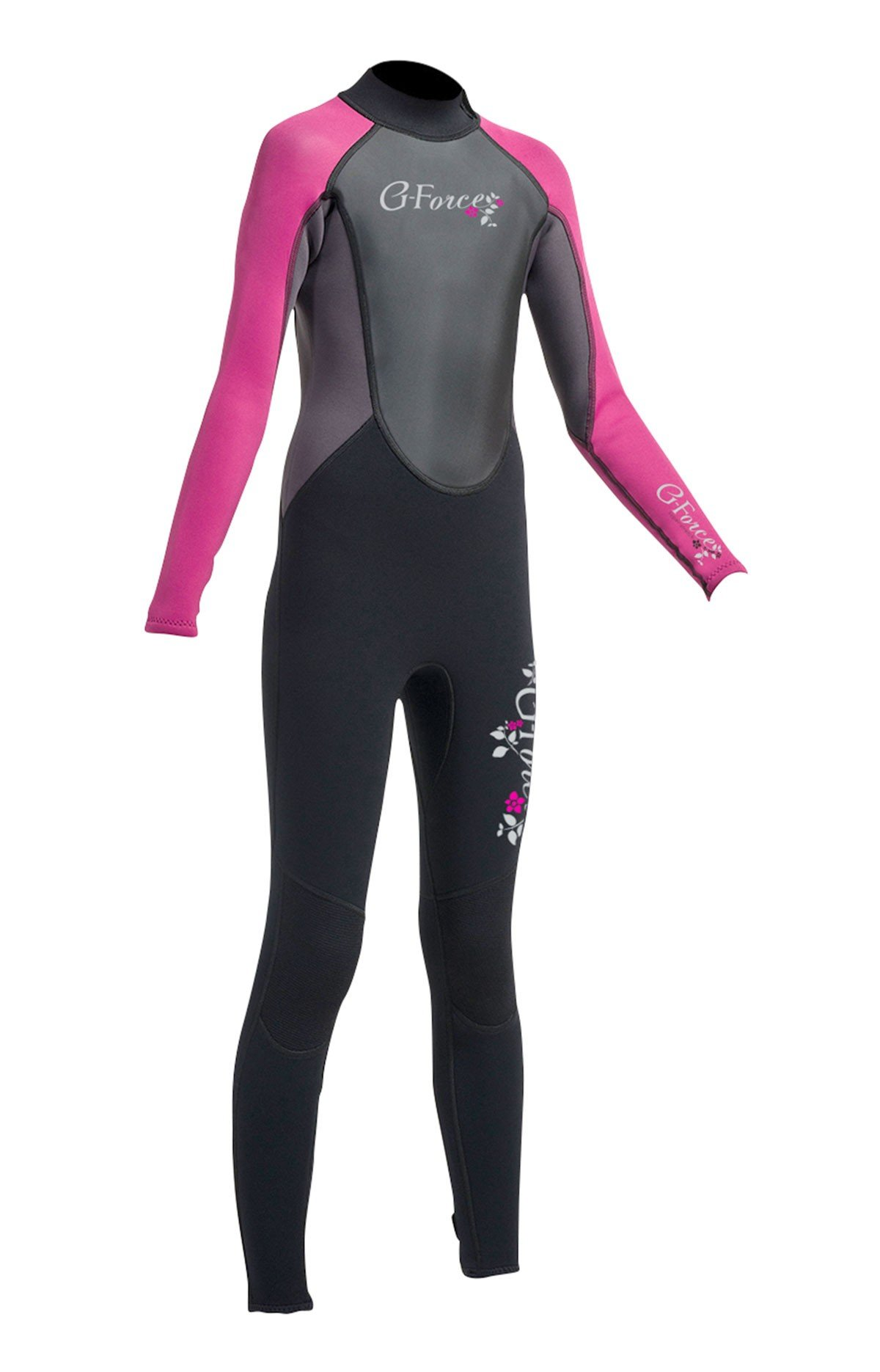 Gul G-Force Junior Girls 3mm Fl Wetsuit Gf1308-A9