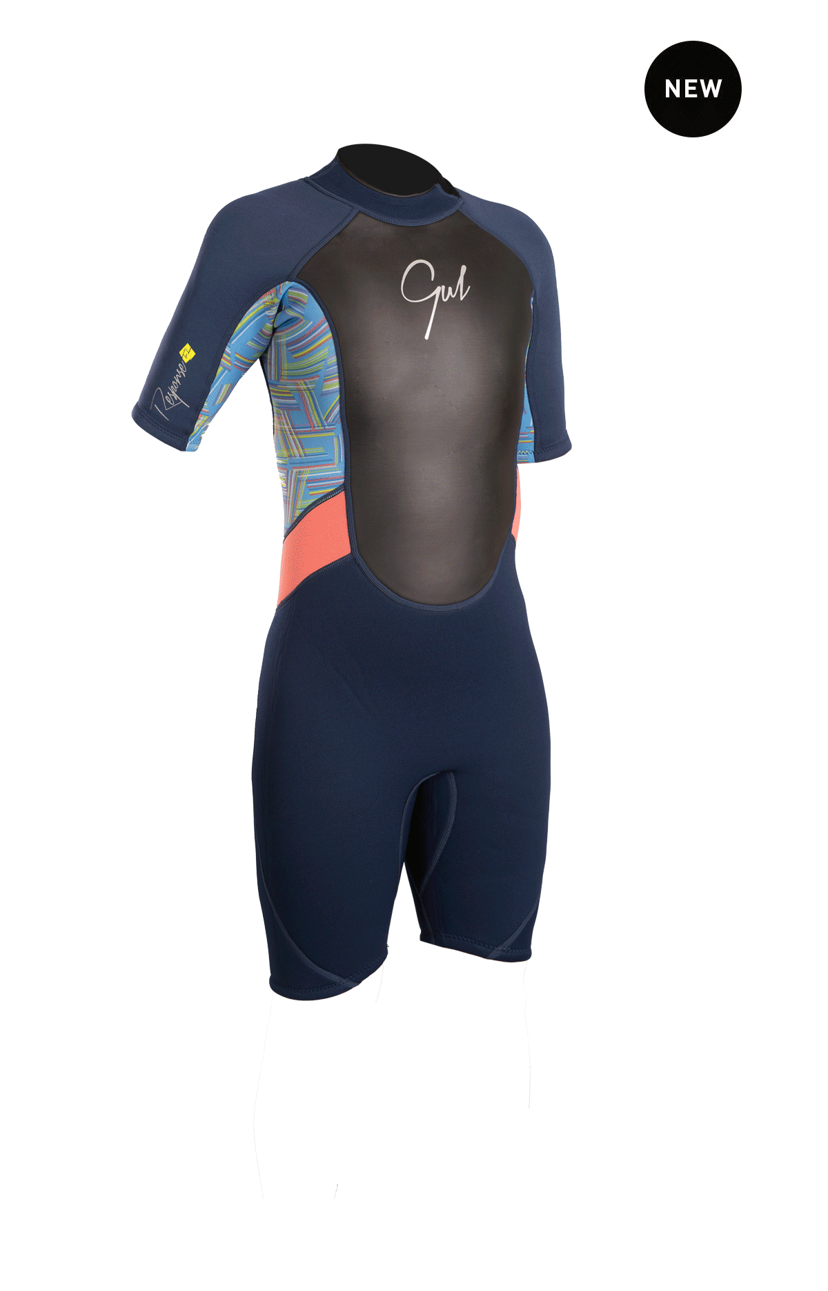 Gul Response Junior Girls 3/2mm Fl Shorti Wetsuit Re3321-B4