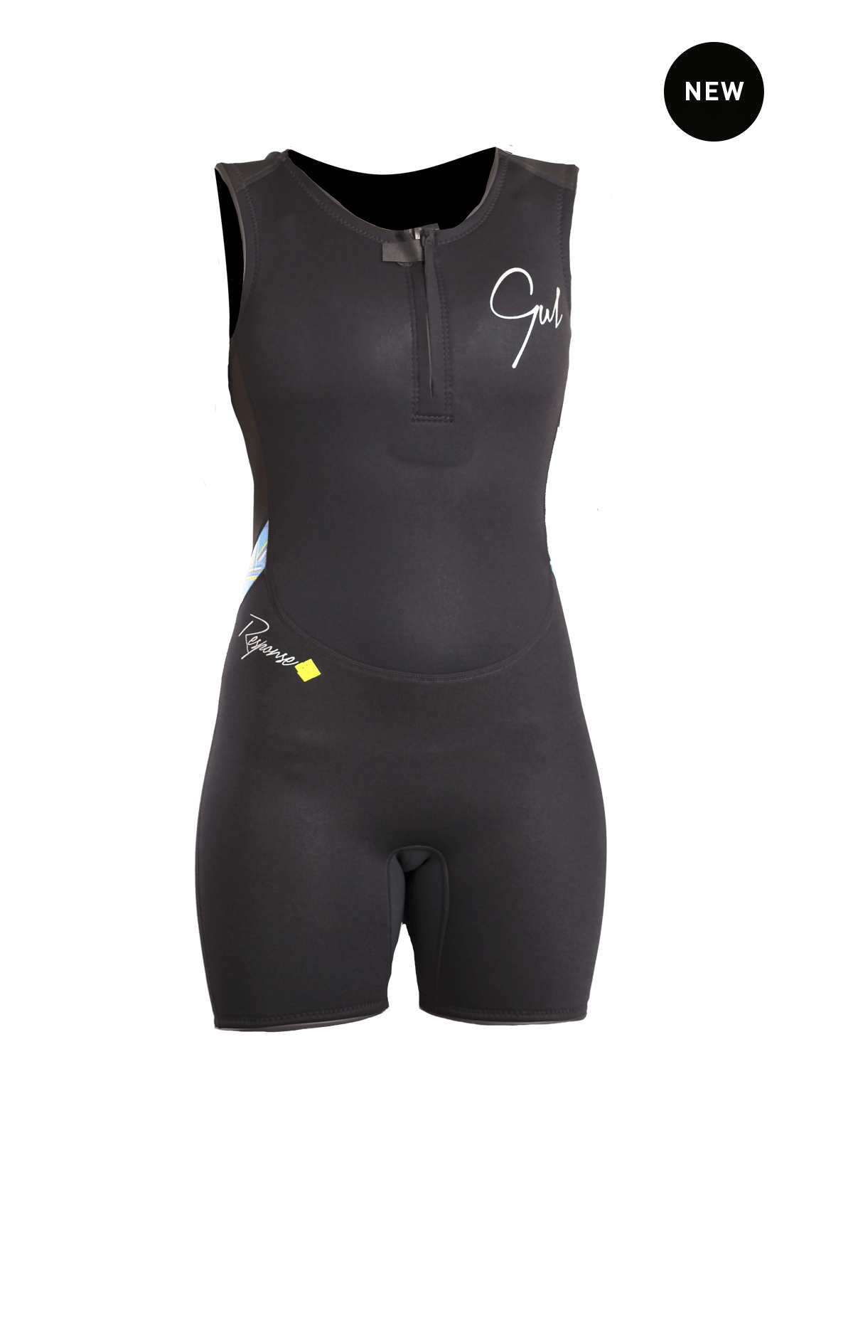 Gul Response Ladies 3/2mm Flatlock Short John Wetsuit Re5306-B4