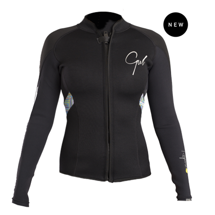 Gul Response Ladies 3mm Fl Wetsuit Jacket    Re6305-B4