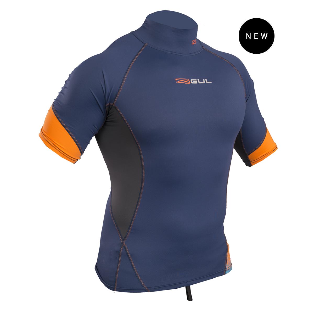 Gul Xola Fl Short Sleeve Rashguard   Rg0338-B4